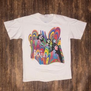 Vintage 90s The Beatles Band Tee